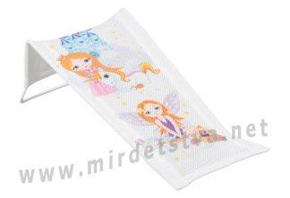 Горка в ванночку для девочек Tega Little princess LP-003 103 white
