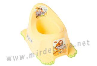Горшок для малыша Tega Safari SF-011 124 yellow