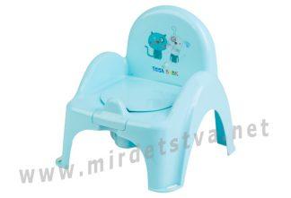 Горшок стульчик Tega Dog&Cat PK-007 101 light blue