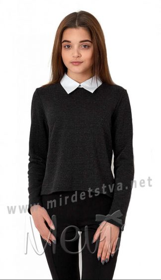 Кофта обманка для девочки подростка в школу Mevis 2704-01