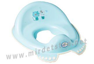 Накладка на унитаз Tega Dog&Cat PK-002 101 light blue