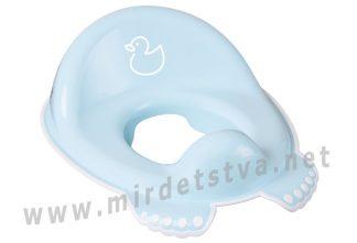 Накладка на унитаз для детей Tega Duck DK-002 129 light blue