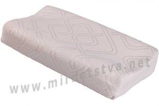 Ортопедическая подушка трехслойная детская с памятью ОП-07 арт.j2507