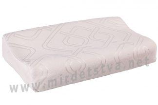 Ортопедическая подушка трехслойная с эффектом памяти ОП-03 арт.j2503
