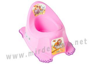 Розовый горшок детский Tega Safari PO-045 with music 127 dark pink
