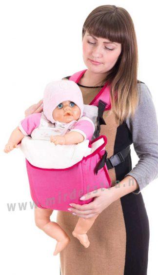 Рюкзак для переноски младенцев Умка №6 малиновый