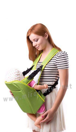 Рюкзак для переноски младенцев Умка №6 салатовый