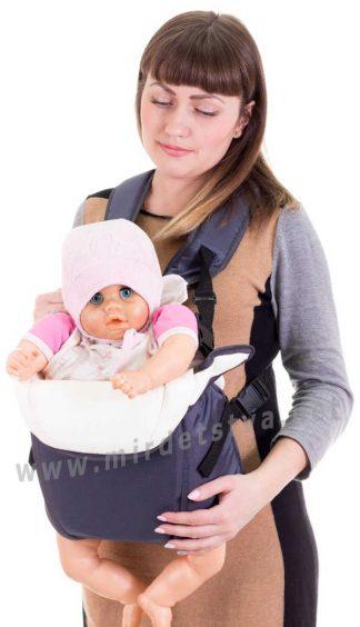 Рюкзак переноска для детей Умка №6 графит