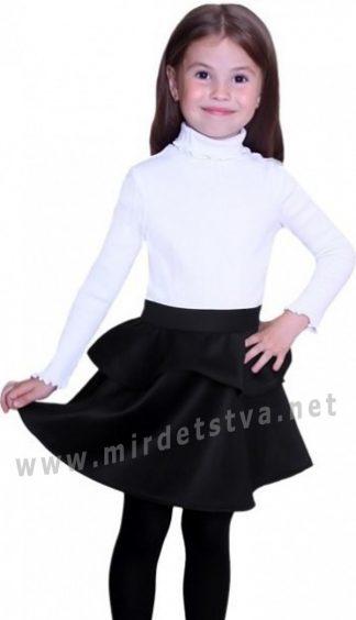Школьная юбка для девочки Purpurino 225201 черная