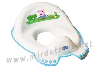 Сиденье для унитаза Tega Peppa Pig PP-002 103-N white-blue