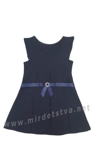 Синий школьный сарафан Deloras 61990P