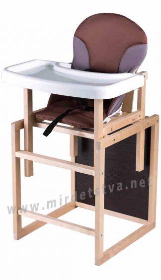 Столик стульчик для кормления Пони-230 eko капучино-шоколад