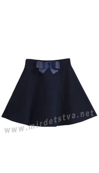 Юбка клеш для девочки Deloras 60832-19 синяя