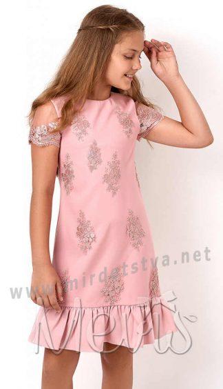 Нарядное платье для девочки Mevis 2874-02