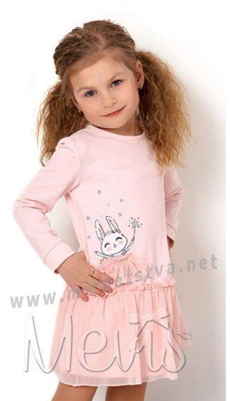 Нарядное платье с длинным рукавом Mevis 2831-01