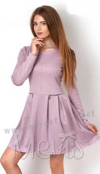 Платье бледно-сиреневого цвета для девочки Mevis 2905-02