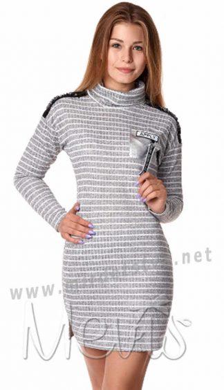 Платье-туника для девочки Mevis 3039-01