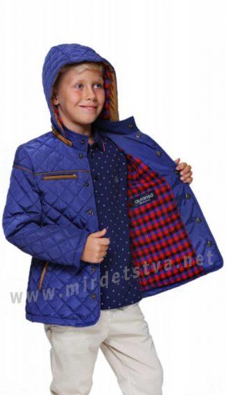Подростковая демисезонная куртка на мальчика Alfonso 40-16-2 B568