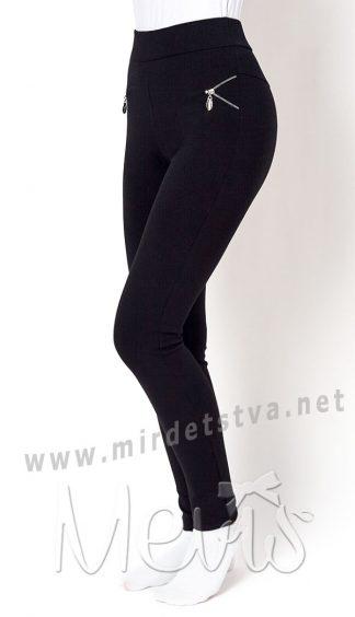 Подростковые трикотажные брюки леггинсы для школы Mevis 2741-01