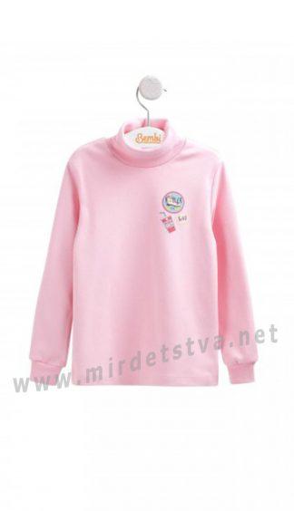 Розовый гольф для девочек Бемби ГФ89