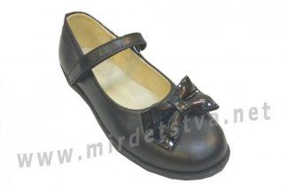 Школьные туфли Tops Д525Б кожа