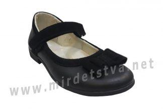 Школьные туфли на каблучке Jordan 5006