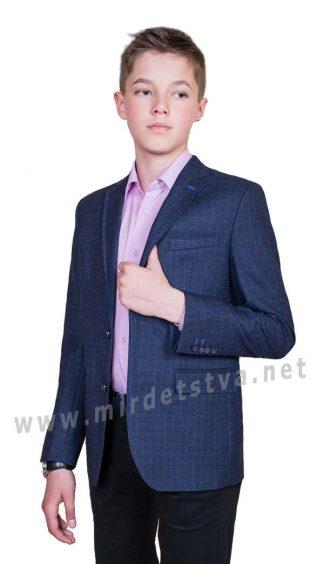 Современный пиджак для мальчика Новая форма Oxford 172.2