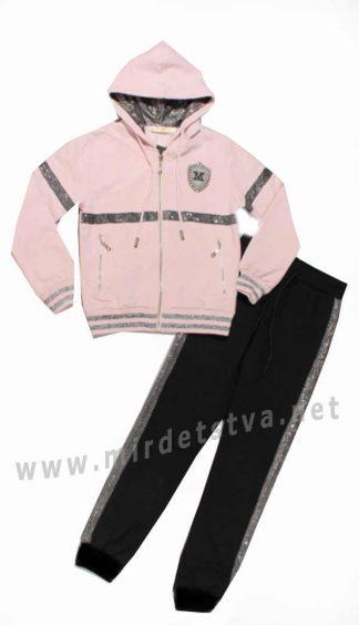 Спортивный костюм для девочки Many&Many 86696 розовый