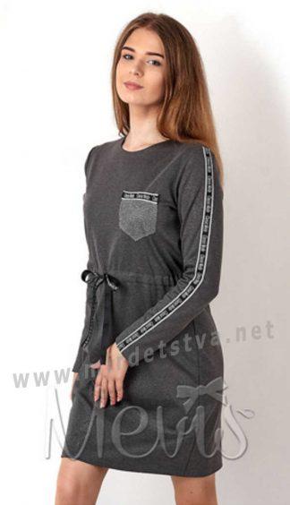 Стильное платье для девочки подростка Mevis 2999-02