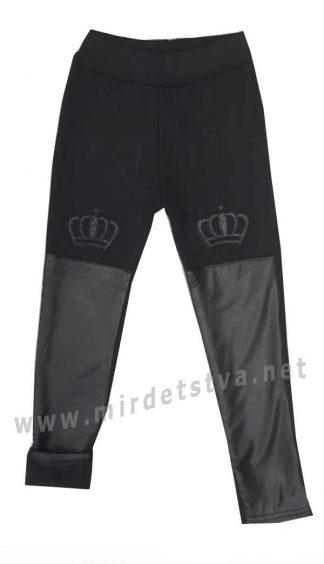 Утепленные лосины черного цвета для девочки Zyky 2005SA