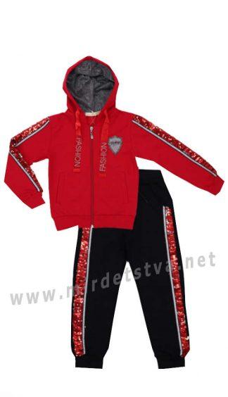 Яркий спортивный костюм для девочки Many&Many 86306