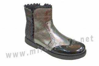 Демисезонные ботинки для девочки Bistfor 97000381753ут