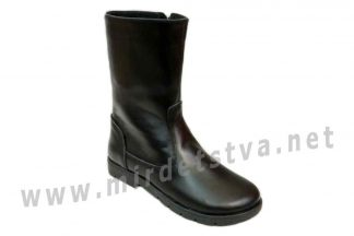Демисезонные кожаные сапоги для девочки Tops Д-15.28