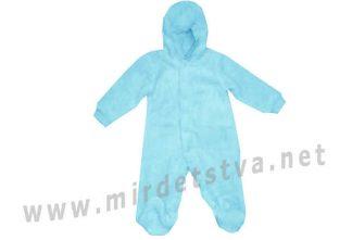 Демисезонный комбинезон голубого цвета Minikin 1713311