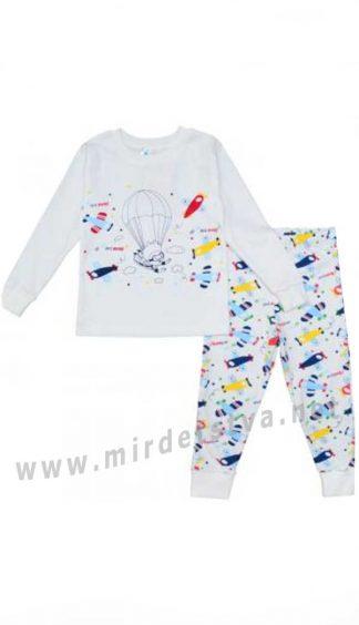 Детская хлопковая пижама Minikin 194703
