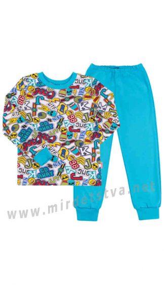 Детская пижама из хлопка Бемби ПЖ39