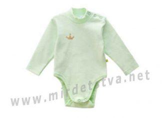 Детский боди-гольф салатового цвета Minikin 1816003