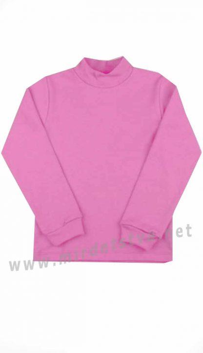 Детский гольф для девочки розового цвета Бемби ГФ36