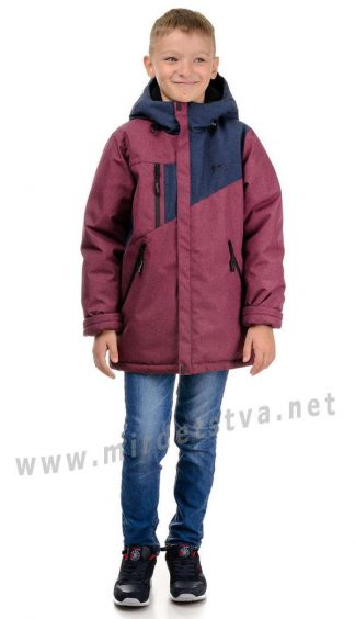 Куртка зимняя на мембране для мальчика Traveler Активный