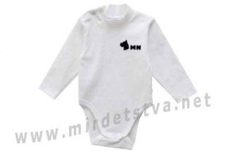 Молочный боди-гольф для мальчика Minikin 1816003