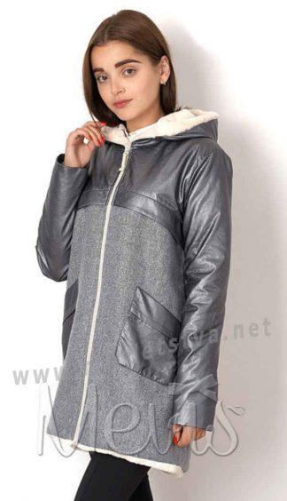 Пальто демисезонное для девочки Mevis 7013-02