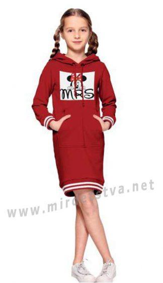 Платье Alfonso 231-A Микки с капюшоном