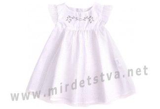 Платье крестильное белое Бемби ПЛ254