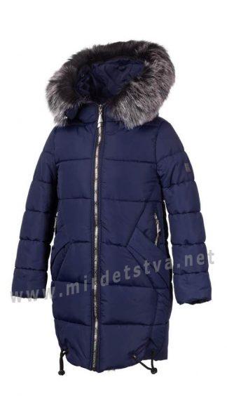 Практичная длинная зимняя куртка на искусственном пуху Alfonso KR-06-A 934 (KR-06-B 934)