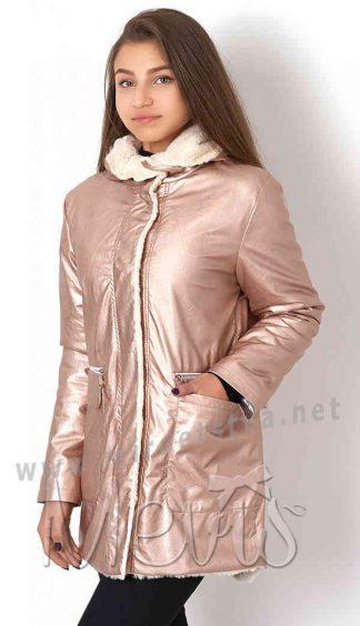 Стильная демисезонная куртка для девочки Mevis 7008-01