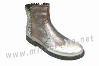 Стильные демисезонные ботинки для девочки Bistfor 97000/381/344ут