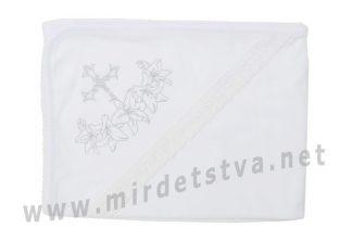 Трикотажная крыжма для крещения Minikin 173203