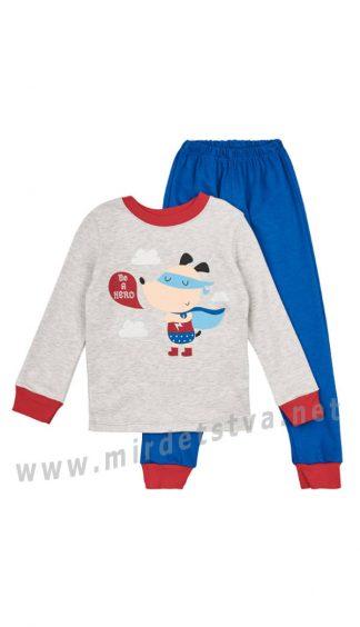 Трикотажная пижама для мальчика Бемби КП189