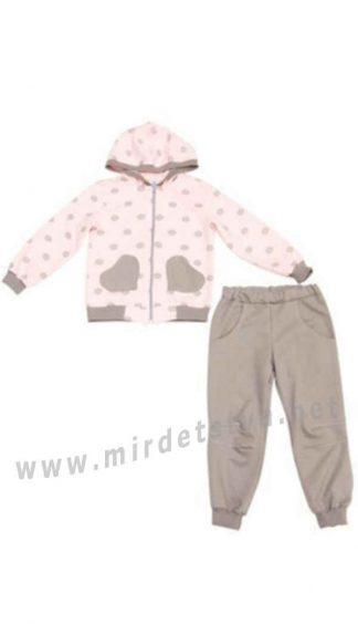 Трикотажный костюм для девочки Minikin 177107