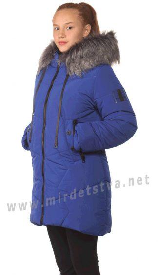 Яркая зимняя стеганая куртка для девочек Nestta Sandra